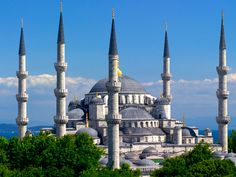 Sultanahmet Camii, or the Blue Mosque for English speaking folk.
