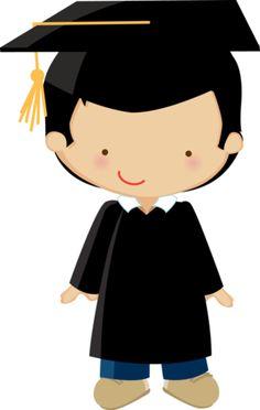 Pequeño graduado. Podría ser perfectamente un alumno Optimist de Sansueña