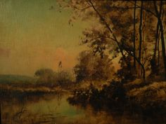 19th Century American Landscape Paintings