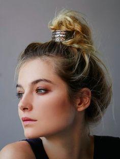 summer hair accessory trend: the bun cuff