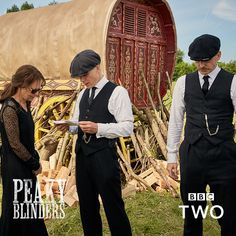 """@peakyblindersofficial posted on their Instagram profile: """"We've had a great reaction to 📷 @robertviglasky's photos from the making of #PeakyBlinders so here…"""""""