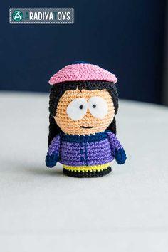 Wendy amigurumi crochet pattern by AradiyaToys