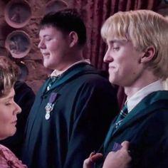 Draco Malfoy and Dolores Umbridge Harry Potter Draco Malfoy, Harry James Potter, Harry Potter Ships, Harry Potter Film, Harry Potter Characters, Harry Potter Universal, Slytherin, Hogwarts, Love Me Better