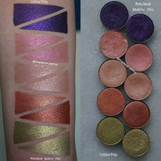 "1,558 Likes, 18 Comments - Angela Tanner (@angelamarytanner) on Instagram: ""Anastasia Beverly Hills vs Colourpop single shadows (part 1 of 3) I posted some potential CP dupes…"""