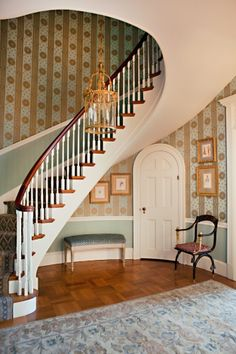FOYER – great example of an impressive way to welcome guests. The Enchanted Home: Leta Austin Foster.
