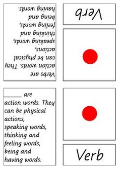 Montessori elementary language