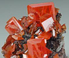 Wulfenite  Red Cloud Mine Trigo Mountains La Paz County Arizona  2.2 x 1.8 x 1.7cm   mw
