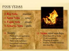 Four Vedas - Indian Vedic School Sanskrit Quotes, Sanskrit Mantra, Gita Quotes, Vedic Mantras, Hindu Mantras, Vedas India, Hindu Vedas, General Knowledge Facts, Knowledge Quotes