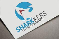 Shark Logo by Josuf Media on @creativemarket