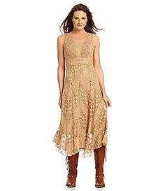 2278695a688 3 2 Reba Embroidered Lace Dress  Dillards