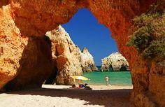 Praia 3 Irmãos - Algarve