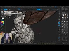 Ashley Adams - Creature & Character Concept Sculpting #1 - YouTube