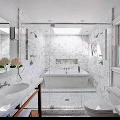 Awesome shower - HGTV tile design inspiration