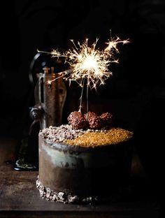 Three Chocolate Layer Cake by Snaps Fotografía