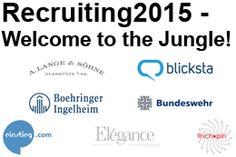 Bis heute gilt noch der Frühbucherrabatt für die Recruiting2015. Schnell noch anmelden...!