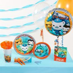 The Octonauts Basic Party Pack will make birthday celebrations fun and easy! The…