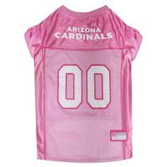 Arizona Cardinals Pink Dog Jersey