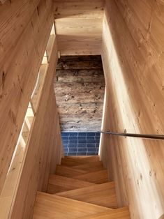 Stairs - Transformation of a barn with stables by Galletti & Matter Barn Renovation, Farmhouse Renovation, Contemporary Architecture, Architecture Design, Converted Barn, Wooden Buildings, Old Barns, Stairways, Interior And Exterior