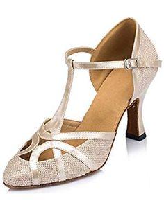 Vimedea Mens Jazz Practice Beginner Scocial Dance Shoes Ballroom Latin Salsa Party 8002A