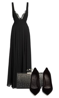 """Untitled #514"" by mayaroger on Polyvore featuring LULUS, Alexander McQueen and Maison Margiela"