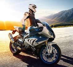 BMW RIDER WITH S1000RR