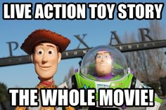 What if Toy Story were made in real life? THESE GUYS DID IT. ALL 120 MINUTES. Click to watch the video!