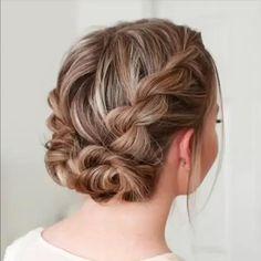 Easy Hairstyles For Medium Hair, Long Hair Video, Wedding Hairstyles For Long Hair, Box Braids Hairstyles, Medium Hair Styles, Cool Hairstyles, Short Hair Styles, Hair Updo, Girls Short Haircuts