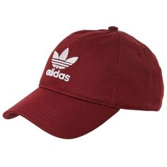 19ffc25ece740 Trefoil Cap by Adidas ($28) ❤ liked on Polyvore featuring accessories,  hats, adidas cap, polyester hat, cap hats, sport hats and sport caps