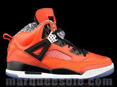 huge selection of e907d bce84 air-jordan-spizike-knicks-orange-new- Black Jordans, Air