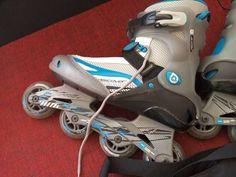 . Se vende patines discover talla 43/44 con muy poco uso,  tiene tambi�n bolsa de transporte.