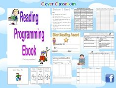 Reading Programming eBook - guided reading, worksheet & more 69 pages - Clever Classroom - TeachersPayTeachers.com
