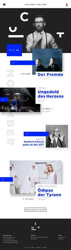 Uct landing page