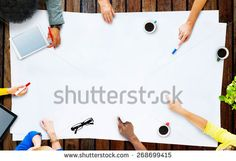 Business Team Planning Project Meeting Concept Concept, Business, Projects, Image, Log Projects, Blue Prints, Store, Business Illustration
