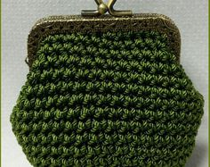 Pattern: Crochet Coin Purse N.2 por Pimentayflor en Etsy