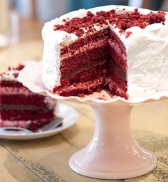 Red Velvet Cake (Iara Venanzi)    http://revistacasaejardim.globo.com/Revista/Common/0,,EMI302279-16777,00-RED+VELVET+CAKE.html#