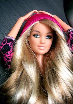 great Barbie hair