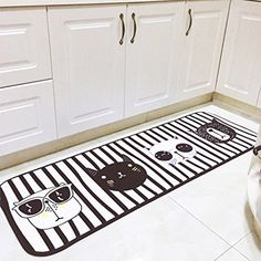 Maygarden Non Slip Kitchen Mat Rubber Backing Doormat Water Absorption Cushions Carpets Cat Patio Lawn Garden