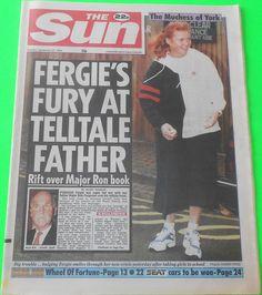 HE SUN NEWSPAPER - 27 Sep 1994 - Sarah Ferguson