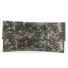 J Francis Luxurious Leopard Pattern Clutch Bag