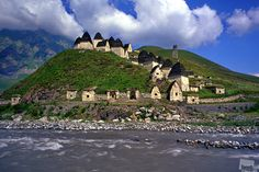 The Town Of The Dead. Northern Osetia, Russia.