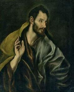 El Greco - The Apostle Thomas