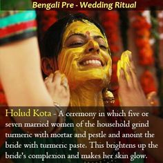 The Bengali wedding is a long affair of the three day celebration apart from engagement and post wedding ceremonies. Sweetest of all ceremonies is 'Holud Kota'. Take a look #wedding #india #sbj #luxury