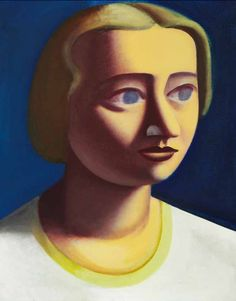 Vilhelm Lundstrøm, Portrait of a Woman, 1932