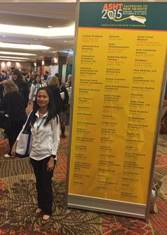 Congratulations to Michelle Fabito on winning FREE registration to the 2016 Annual Meeting! #ASHT2015