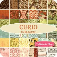 Curio Jelly Roll -- my favourite in this collection was the flowers.