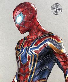 Spiderman Tattoo, Spiderman Drawing, Spiderman Art, Amazing Spiderman, Marvel Comics, Marvel Heroes, Deadpool Comics, Thor Marvel, Marvel Avengers