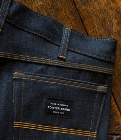 Pointer Brand denim by L.C. King / Bristol, Tennessee