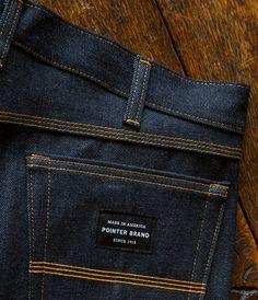 Pointer Brand denim by L.C. King / Bristol, Tennessee