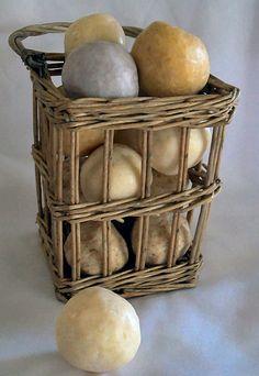 Vintage Soap Balls