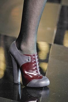 Louis Vuitton shoes, fall 2011